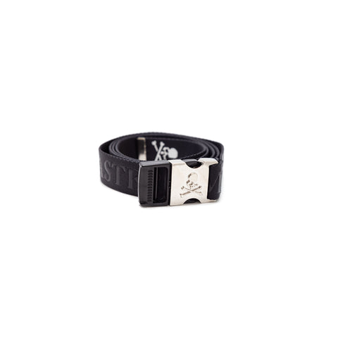 MASTERMIND SKULL TAPED BELT - BLACK