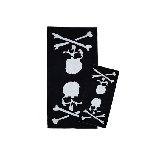 MASTERMIND LOGO TOWEL SET - BLACK