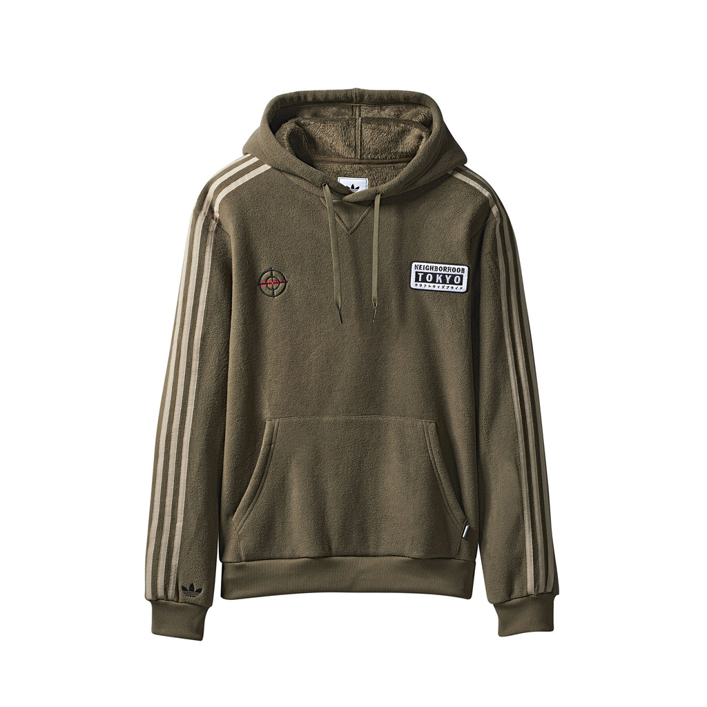 NEIGHBORHOOD HOODIE - TRACE OLIVE