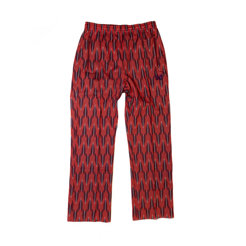 NEEDLES TRACK PANT POLY JACQUARD - ARROW / RED