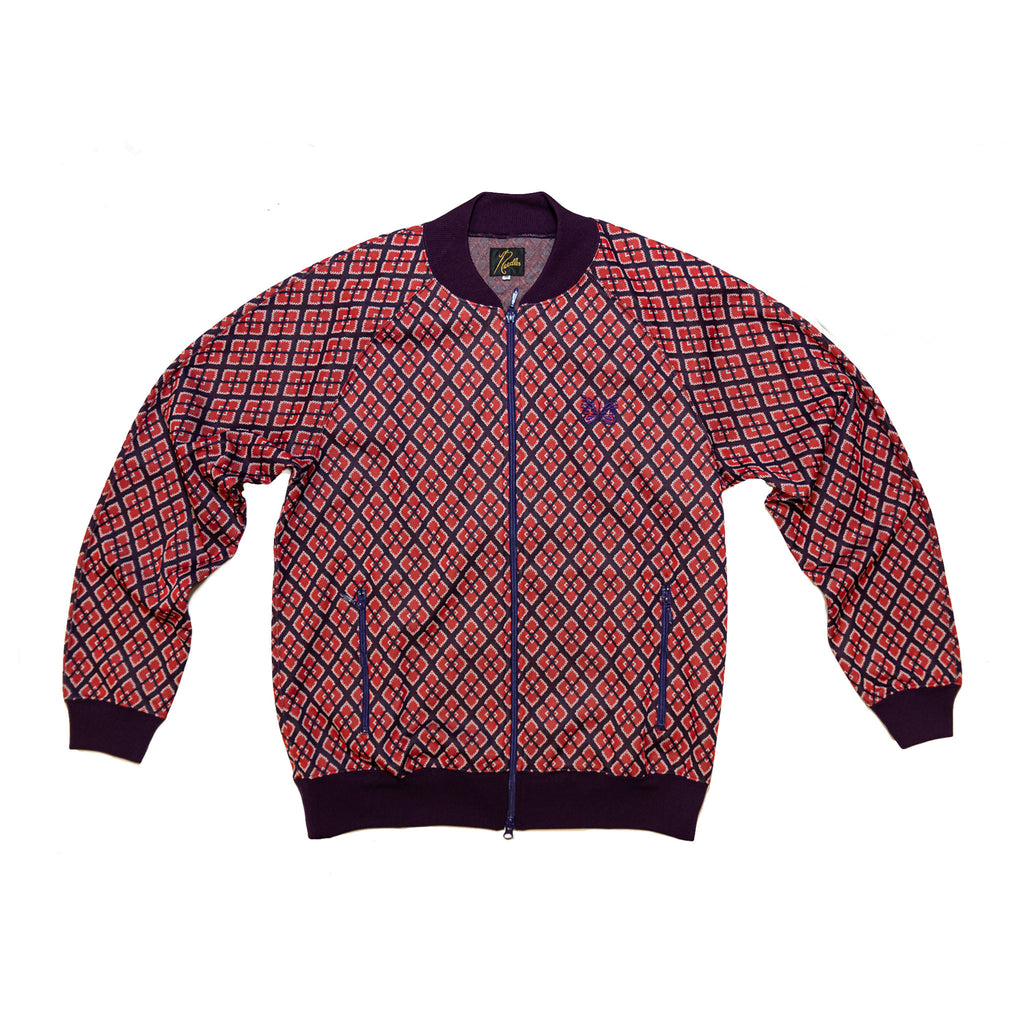 RIP COLLAR TRACK JACKET POLY - DIAMOND