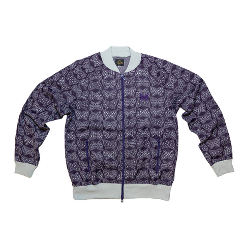 RIP COLLAR TRACK JACKET POLY - PAPILLION