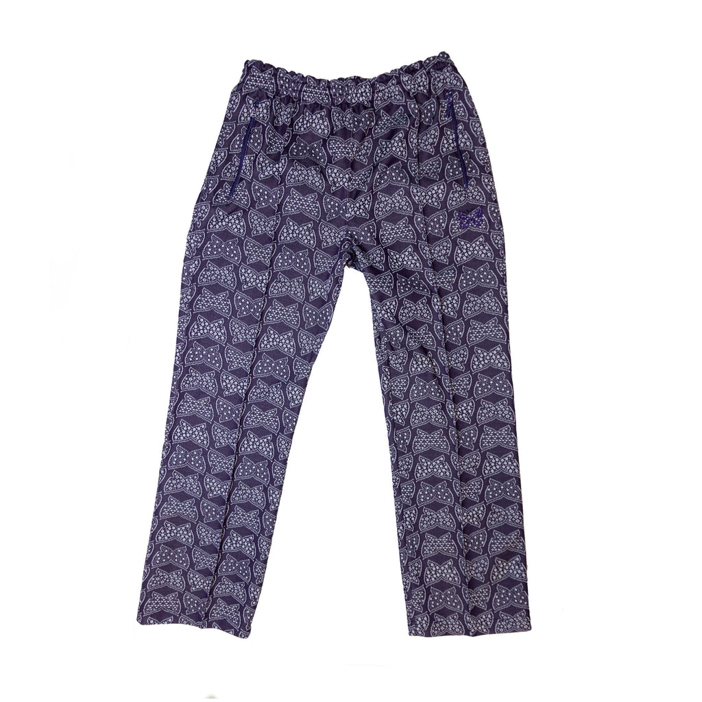 NEEDLES TRACK PANT POLY JACQUARD - PAPILLION