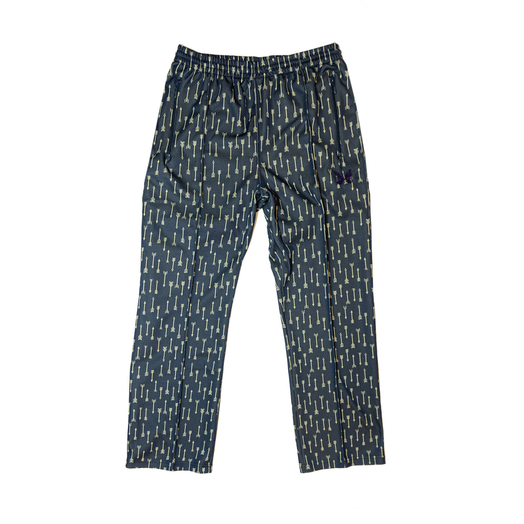NEEDLES TRACK PANT POLY JACQUARD - ARROW / NAVY