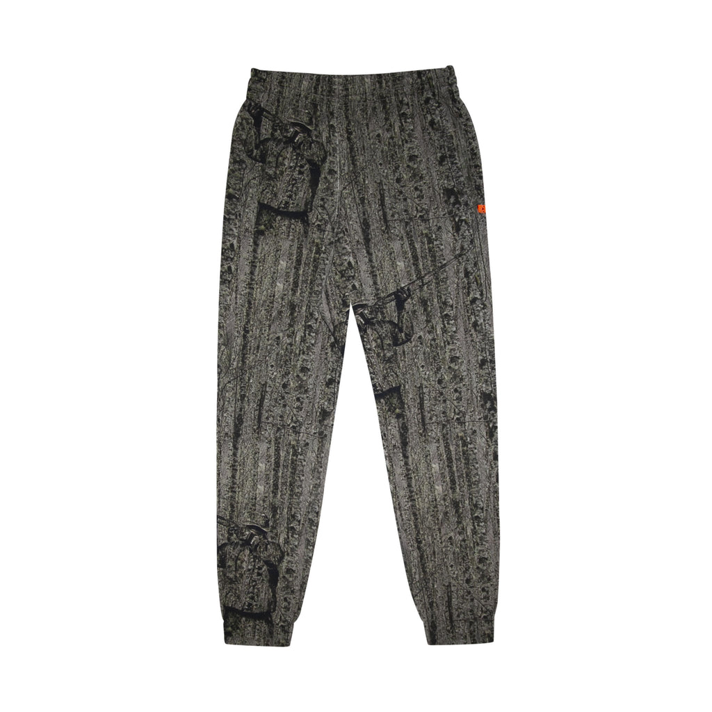 REAL CAMO SLIM SWEATPANTS - ALL OVER WHITE