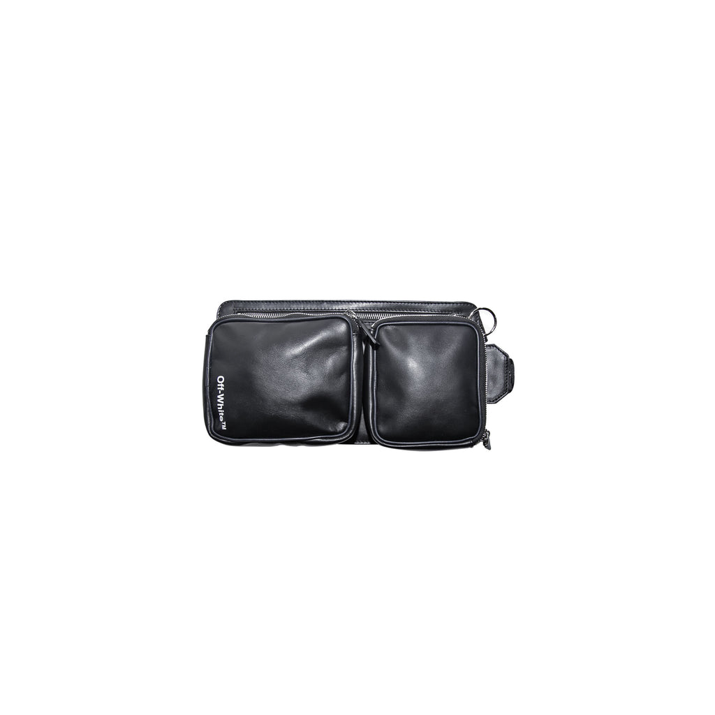 HIP BAG - BLACK/ WHITE