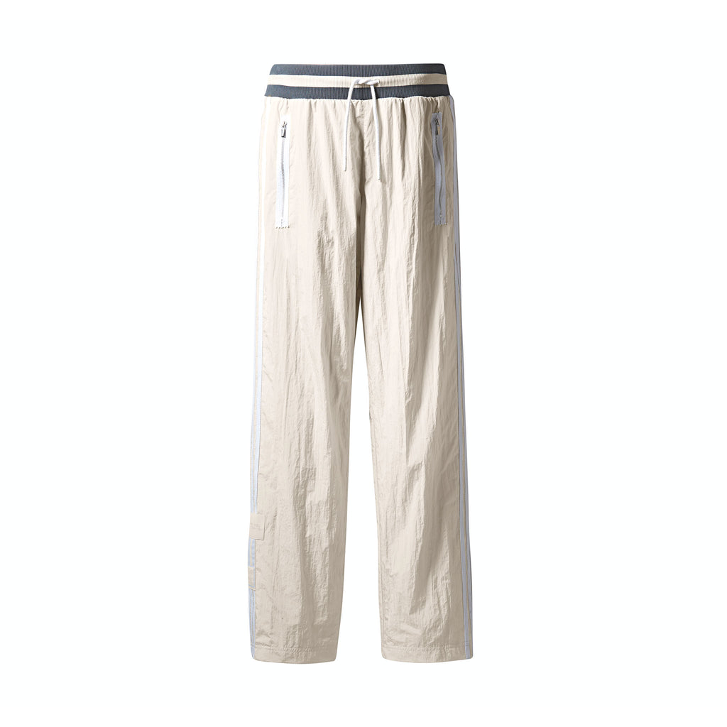 ADIDAS ORIGINALS BY BRISTOL TEARAWAY PANT - CLEAR BROWN/ WHITE