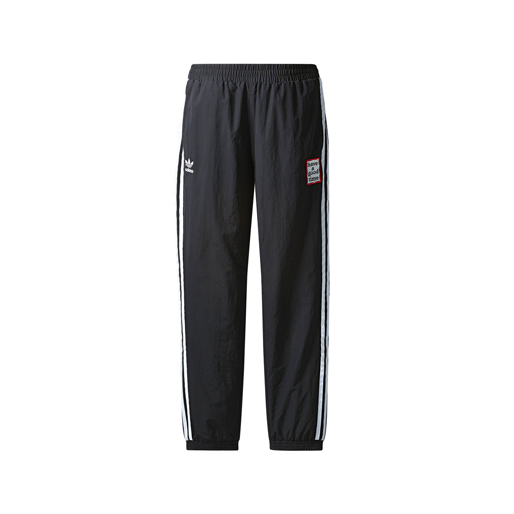 ADIDAS ORIGINALS BY HAGT REVERSIBLE TRACK PANTS - BLACK