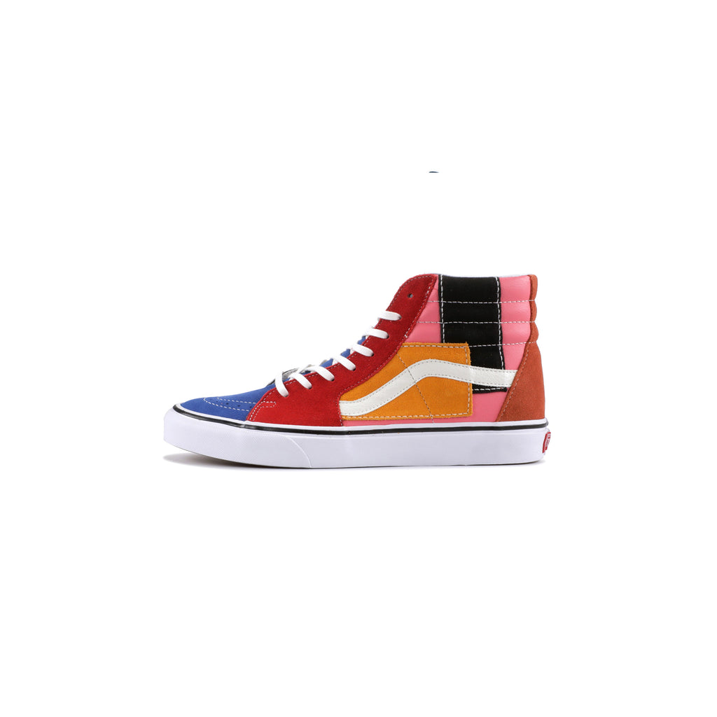 PATCHWORK SK8-HI - MULTI/TRUE WHITE