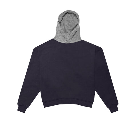 HEAVY TERRY EVERYDAY HOODIE - NAVY