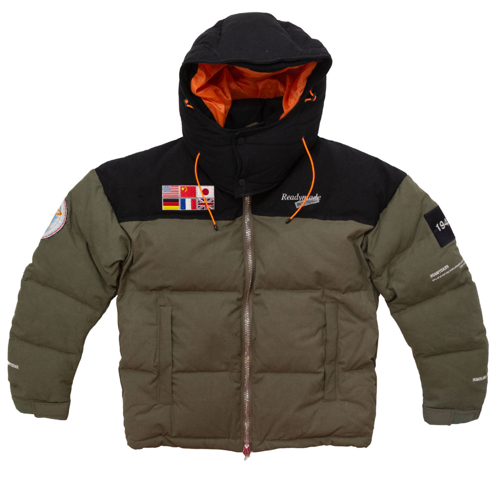 READYMADE DOWN JACKET - GREEN