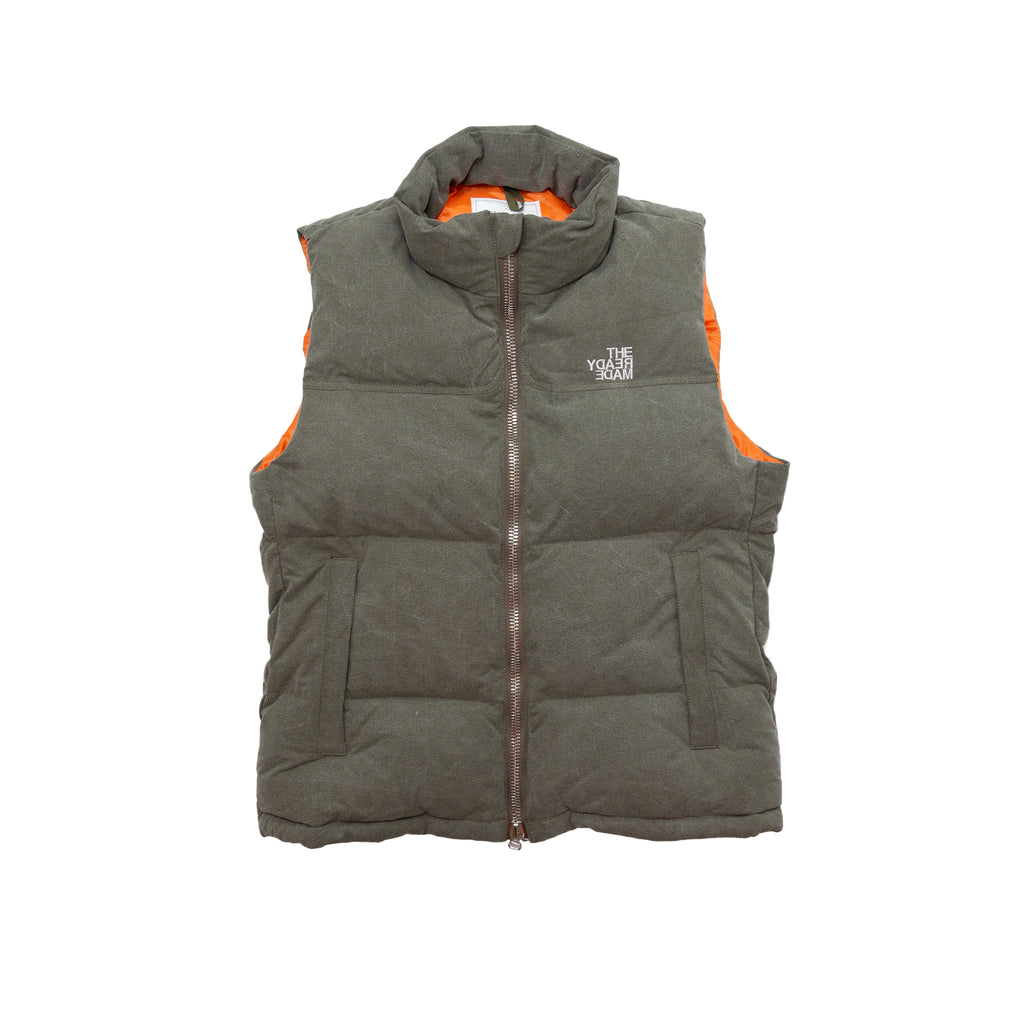 DOWN VEST - LIGHT GREEN
