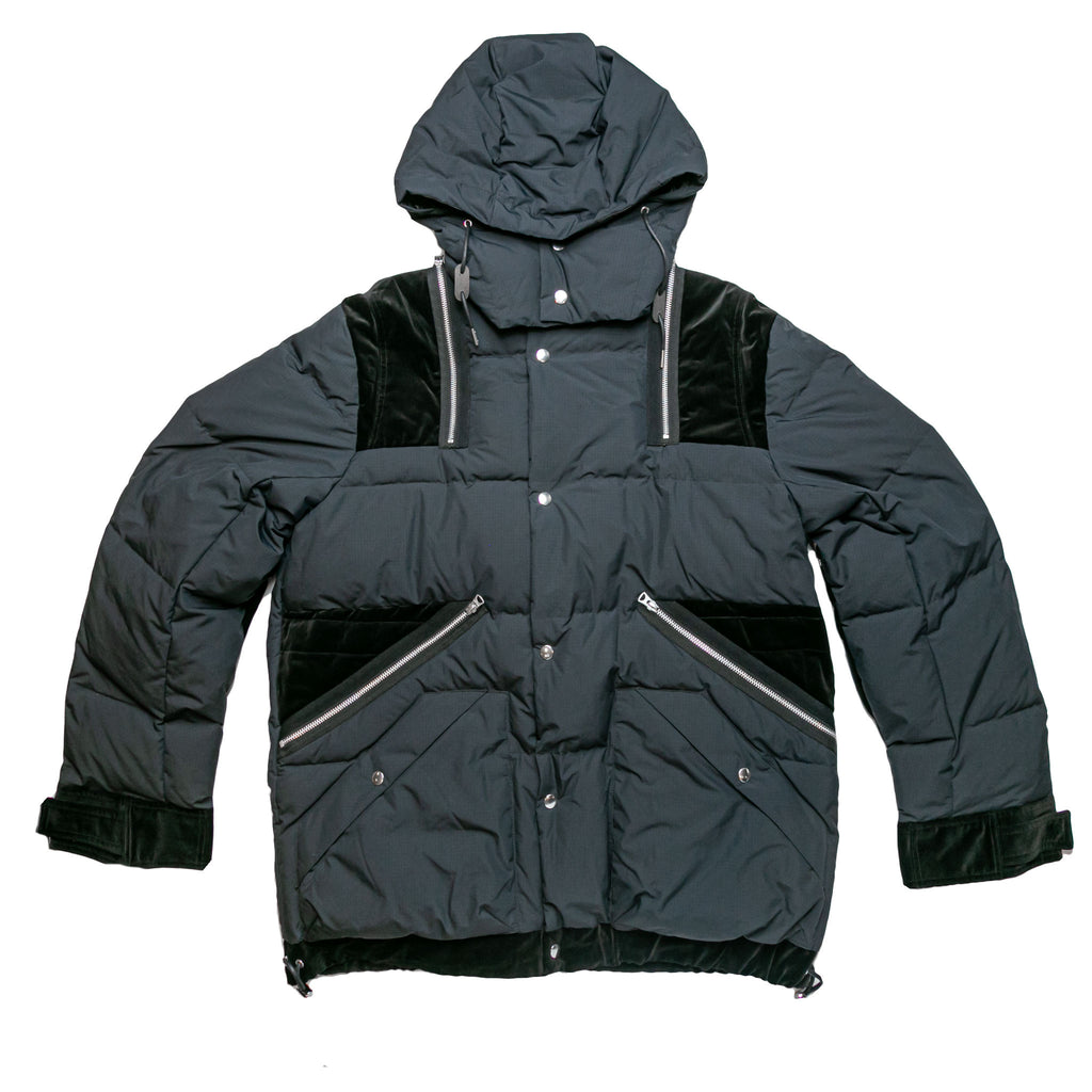 RIPSTOP JACKET - BLACK