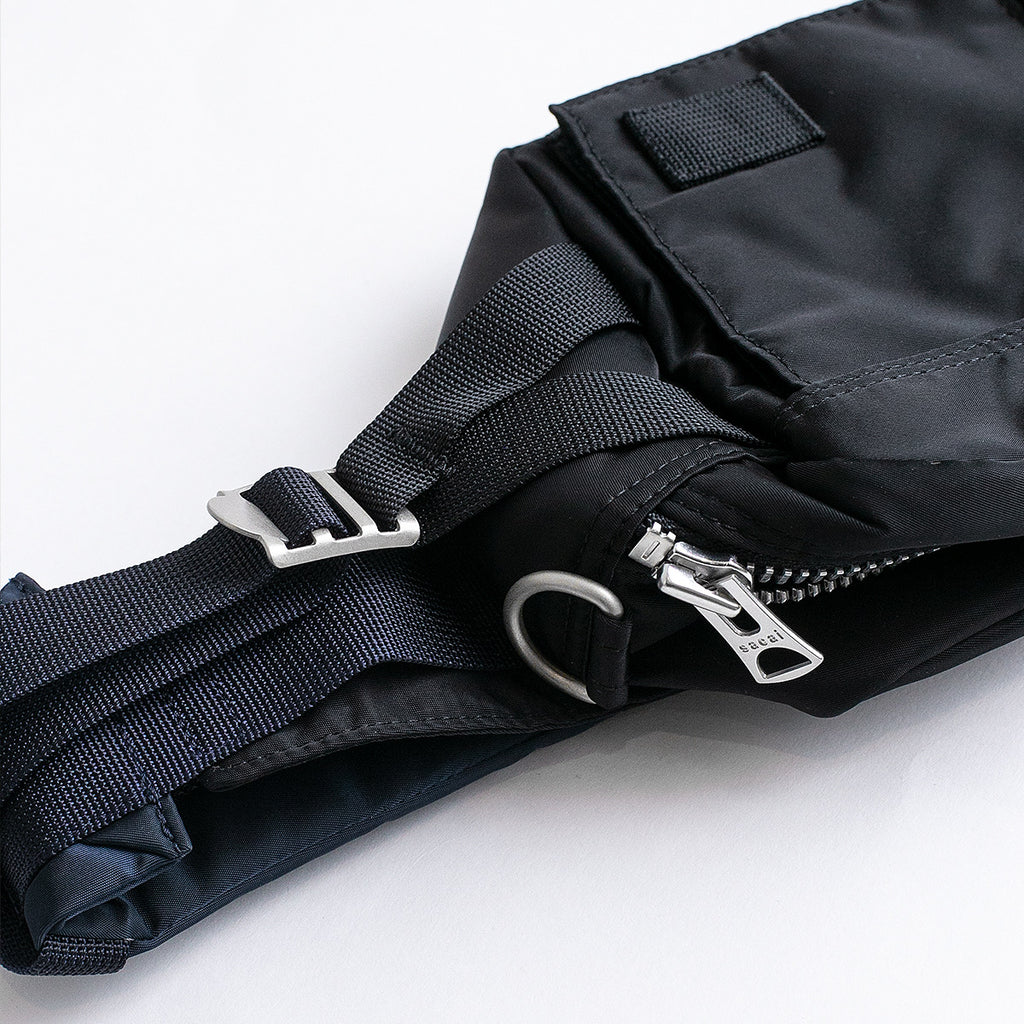 SACAI PORTER BAG - BLACK/ NAVY