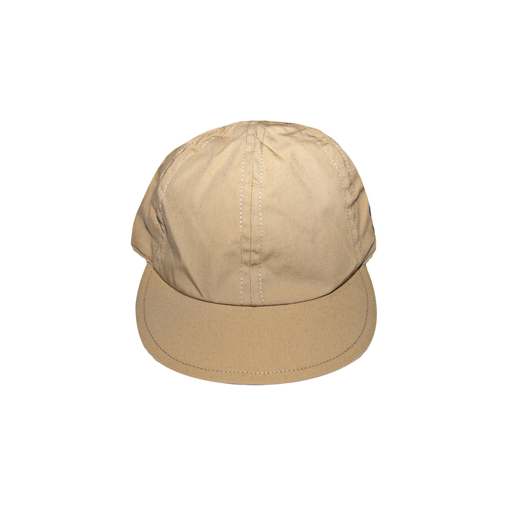 SACAI DR. WOO EMBROIDERED CAP - BEIGE