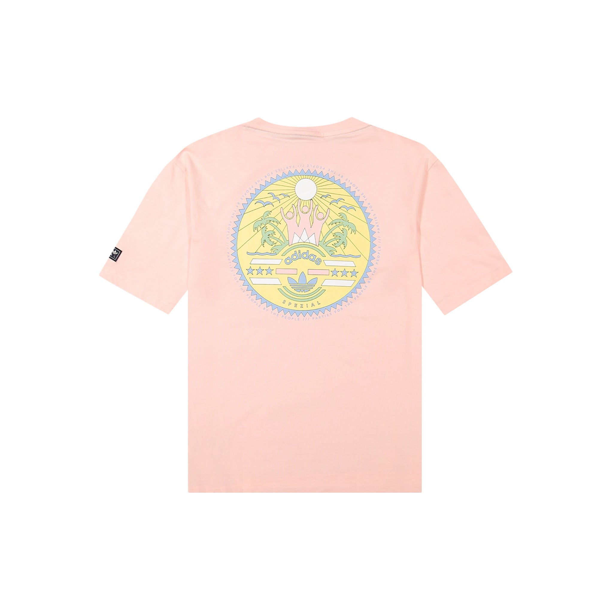 SETTEND TEE - ICEY PINK