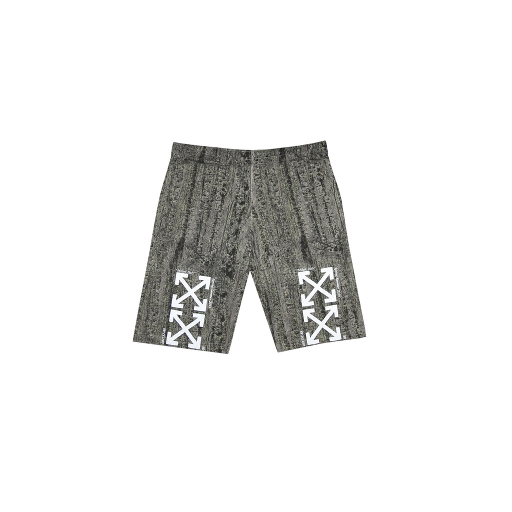 REAL CAMO SWEATSHORTS - ALL OVER WHITE