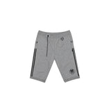 ADIDAS BY NEIGHBORHOOD NH RIDERS TRACK SHORTS - HEATHER GREY
