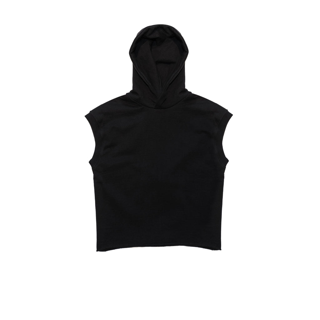 FEAR OF GOD 5TH COLLECTION HEAVY TERRY MUSCLE HOODIE - BLACK