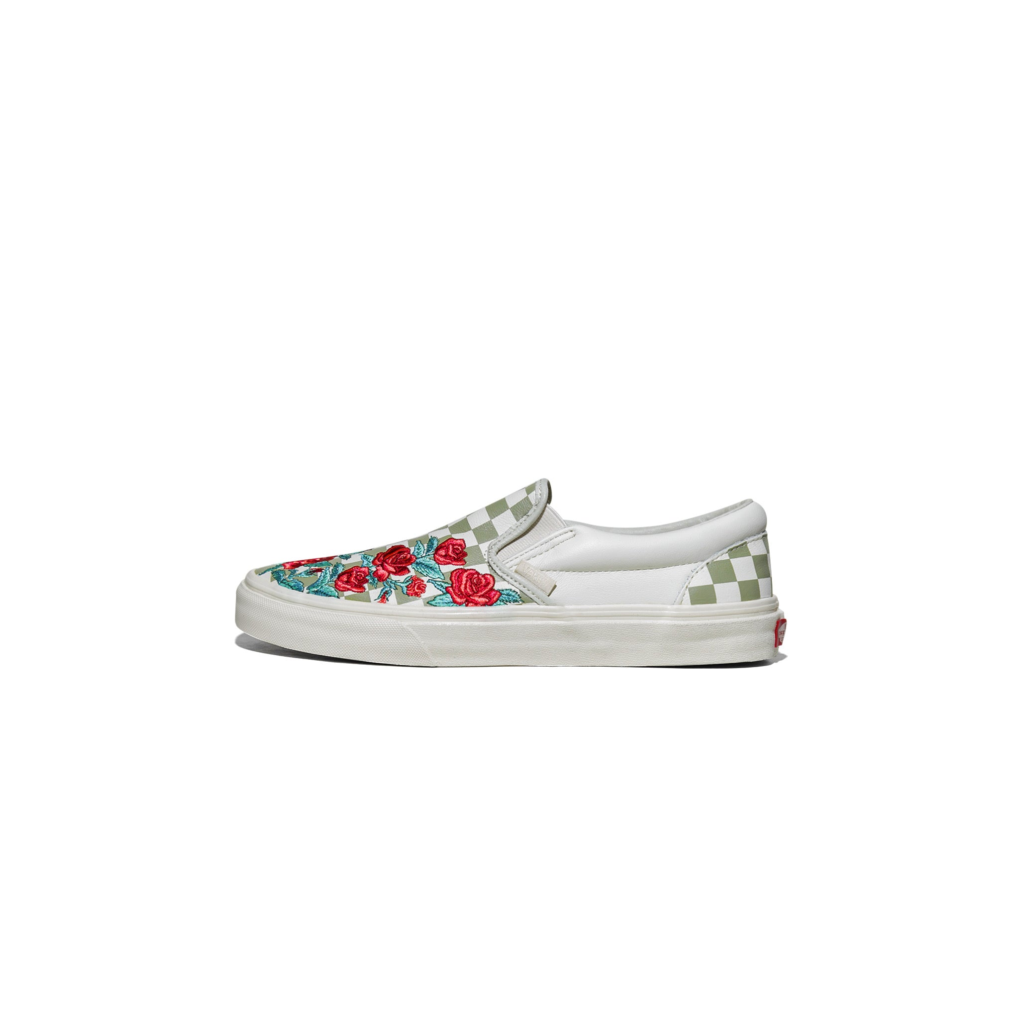 CLASSIC SLIP-ON DX - ROSE EMBROIDERY