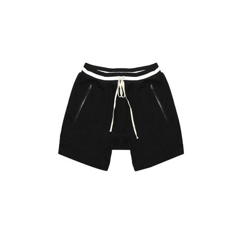 HEAVY TERRY EVERYDAY SWEAT SHORTS - BLACK