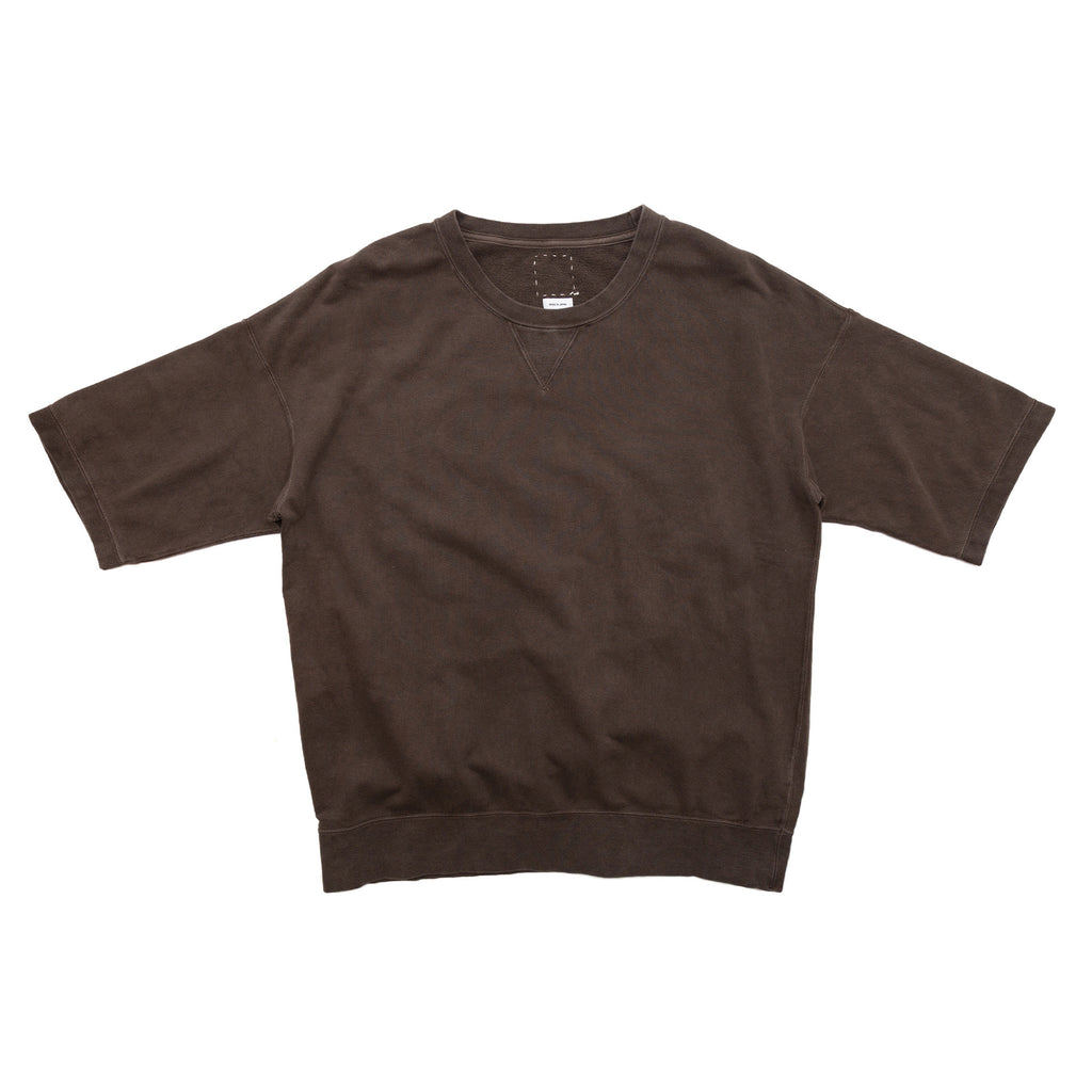 JUMBO SWEAT SHORT SLEEVE (N.D.) -  MUD
