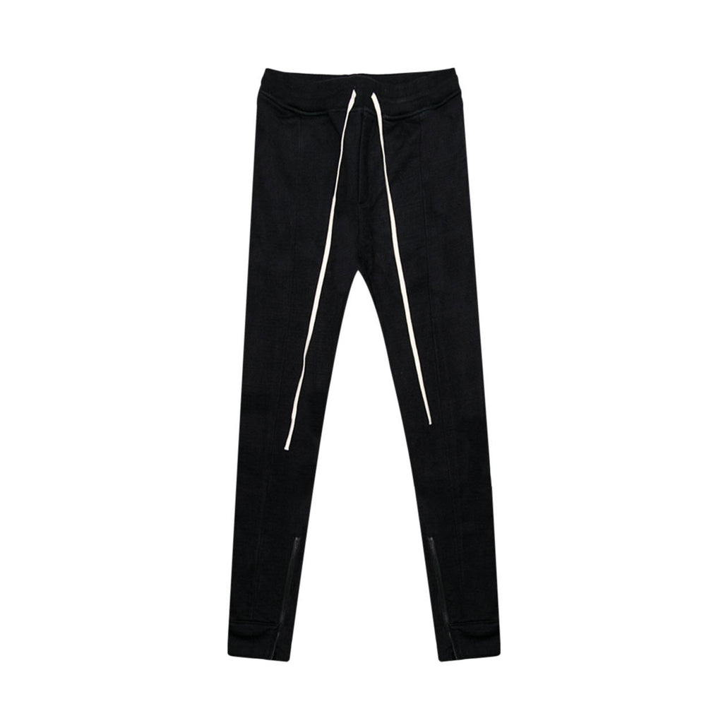 5TH COLLECTION HEAVY TERRY EVERYDAY SWEAT PANTS - BLACK