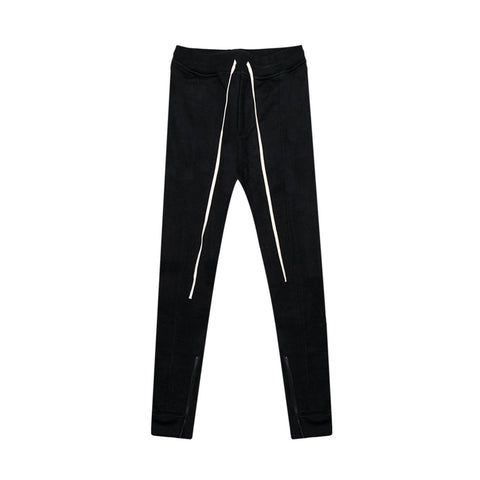 HEAVY TERRY EVERYDAY SWEAT PANTS - BLACK