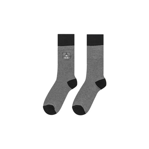 TIGER SOCKS - BLACK