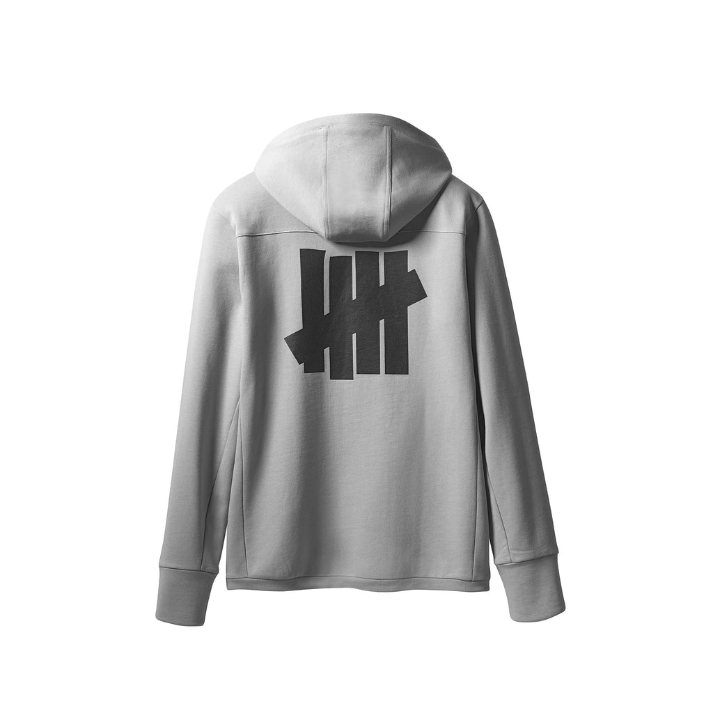 ADIDAS X UNDEFEATED TECH HOODIE - SHIFT GREY