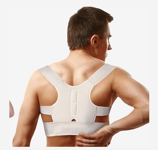 Magnetic Therapy Posture Back Shoulder Corrector Support Brace Belt