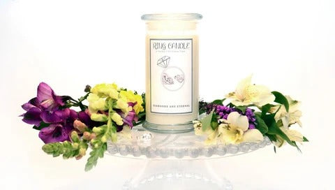 Ring Candle - Choose from size 5 to 11 in our brand new Ring Candles !