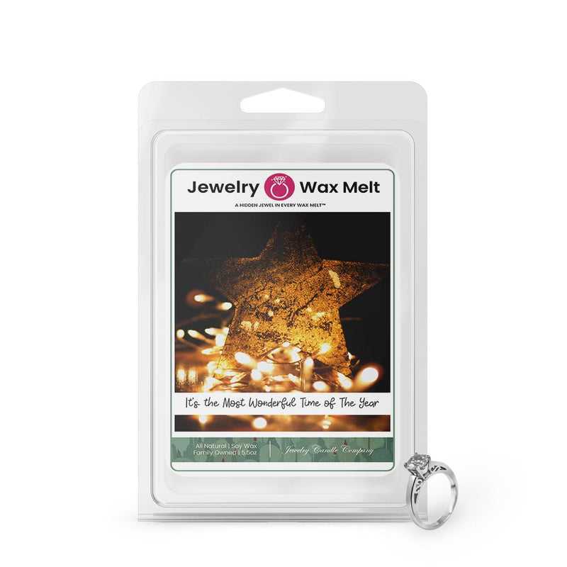 ITS THE MOST WONDERFUL TIME OF THE YEAR  Jewelry Wax Melt