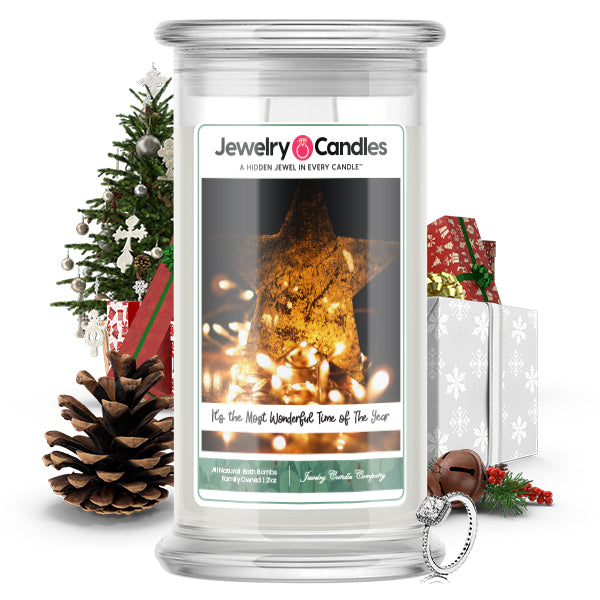 Its The Most Wonderful Time Of The Year Jewelry Candle