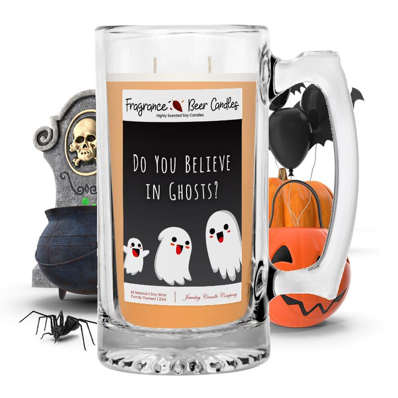 Do you believe in ghosts? Fragrance Beer Candle