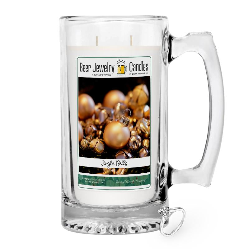 Jingle Bells Beer Jewelry Candle