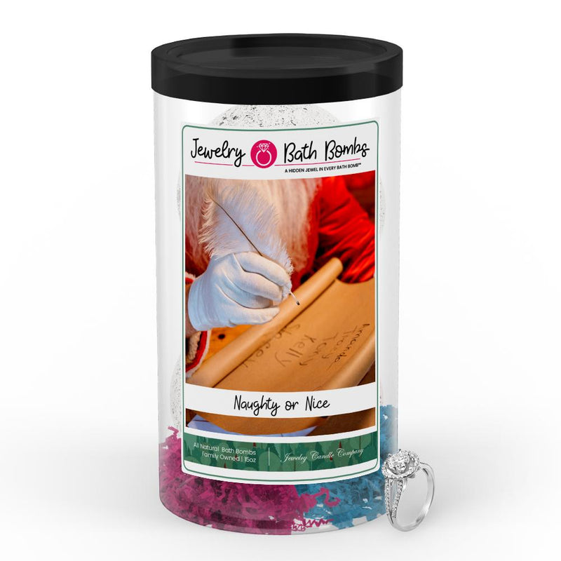 Naughty Or Nice Jewelry Bath Bomb