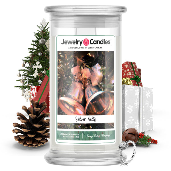 Silver Bells Jewelry Candle