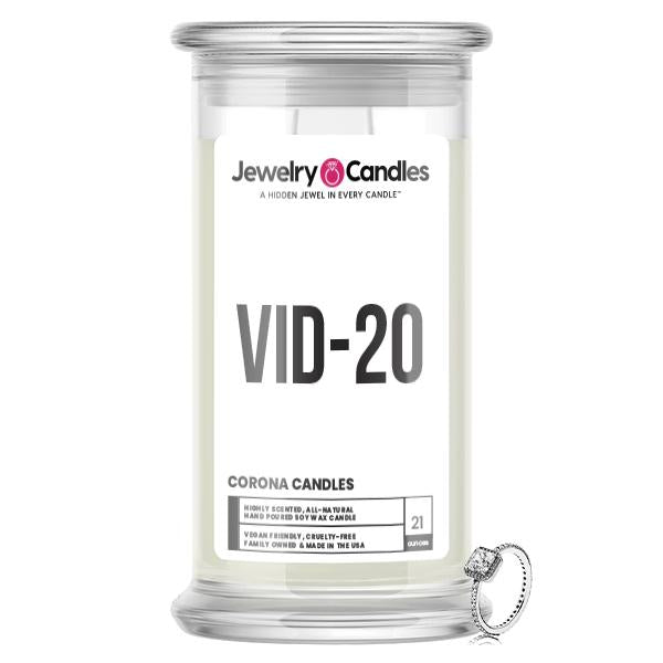 VID-20 Jewelry Candle