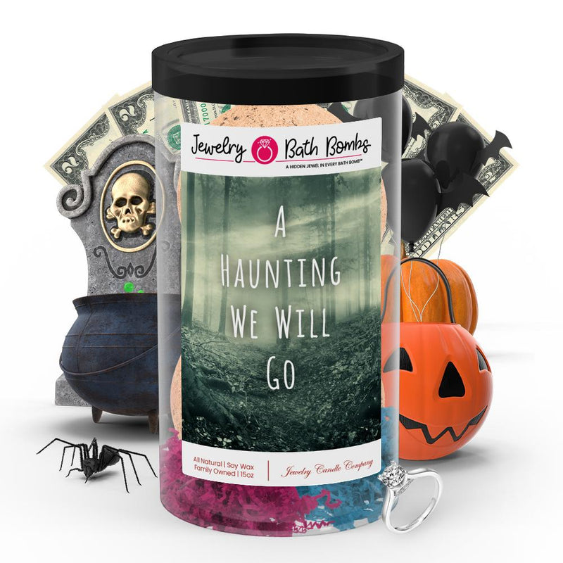 A hunting we will go Jewelry Bath Bombs