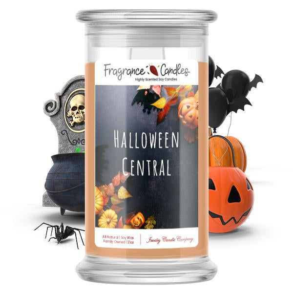 Halloween central Fragrance Candle