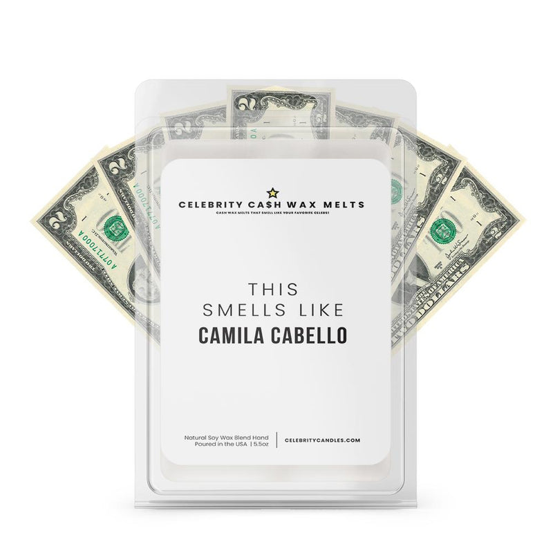 This Smells Like Camila Cabello Celebrity Cash Wax Melts