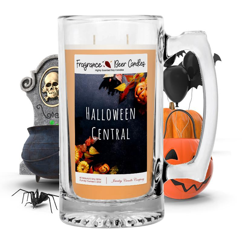 Halloween central Fragrance Beer Candle