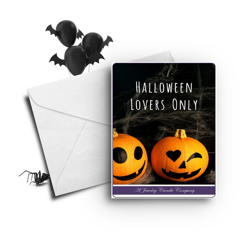 Halloween lovers only Greetings Card