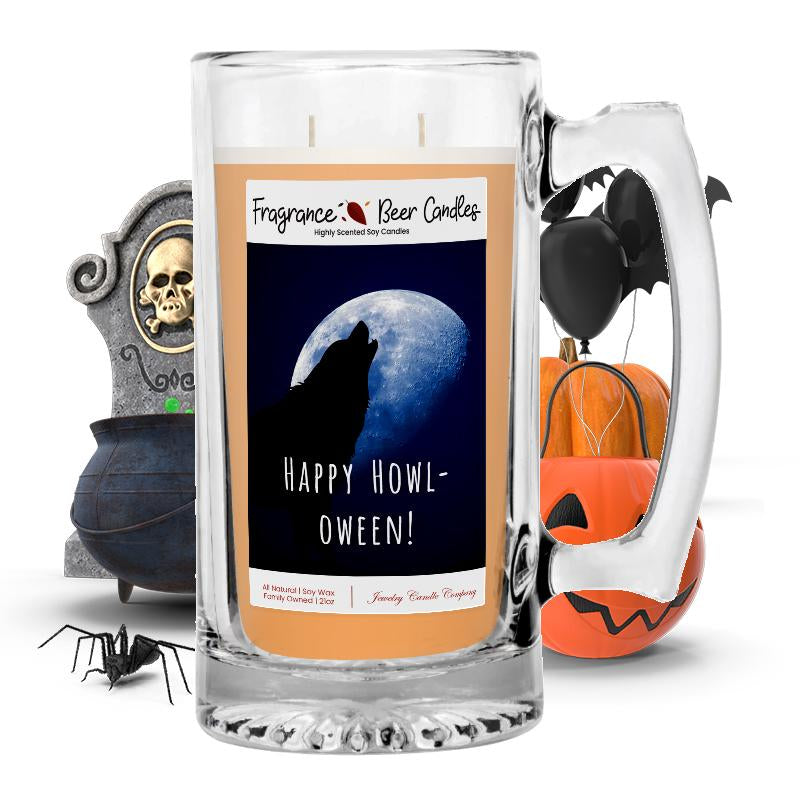 Happy halloween! Fragrance Beer Candle