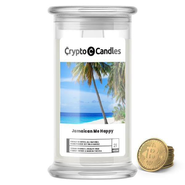 Jamaican Me Happy Crypto Candle