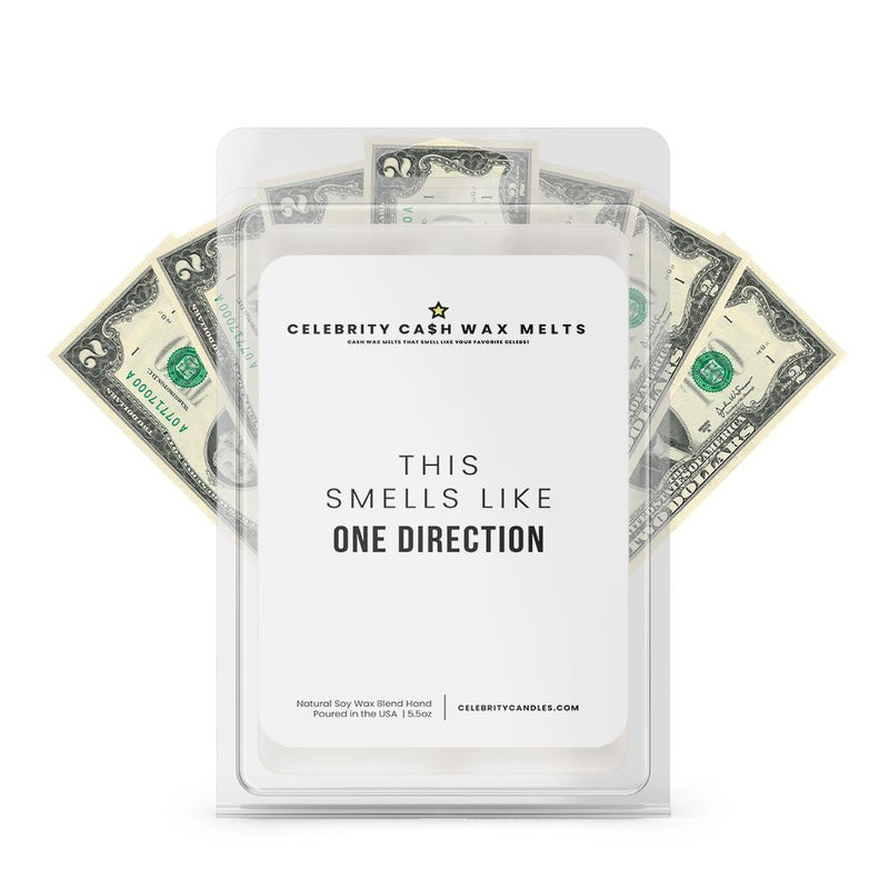 This Smells Like One Direction Celebrity Cash Wax Melts