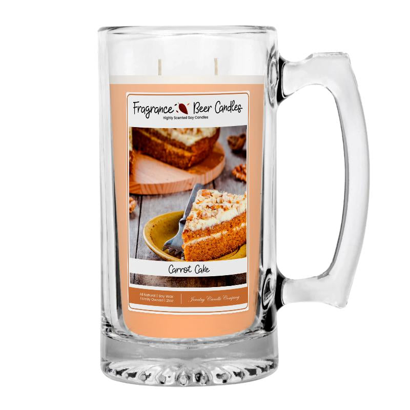 Carrot Cake Fragrance Beer Candle