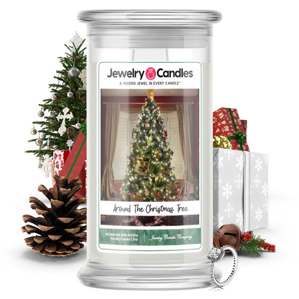 Around The Christmas Tree Jewelry Candle
