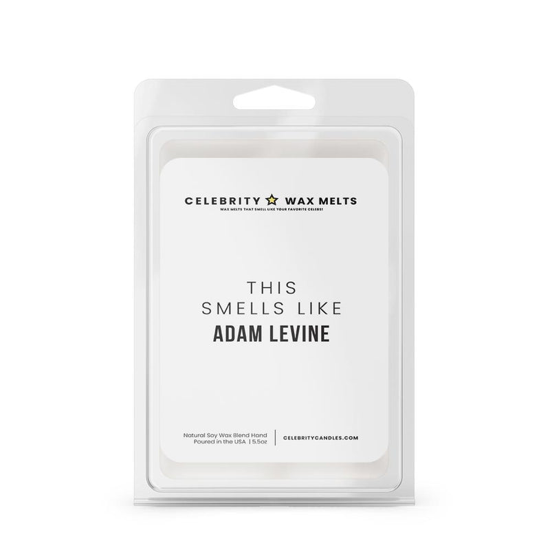 This Smells Like Adam Levine Celebrity Wax Melts